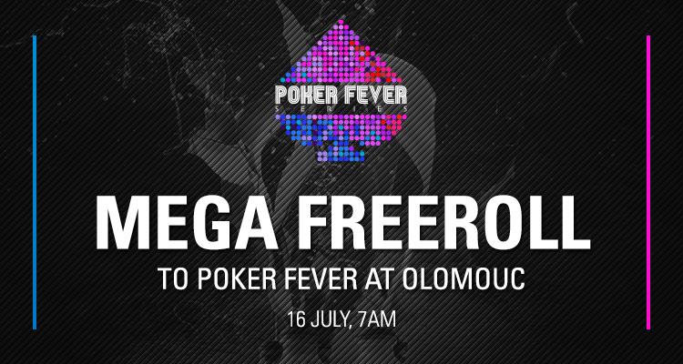 Mega Freeroll Poker Fever
