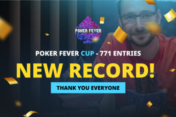 Poker Fever Cup - New Record!